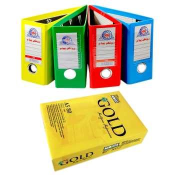 زونکن پیام کد 212 مجموعه 4 عددی به همراه یک بسته 500 عددی کاغذ A5