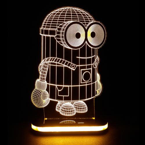 چراغ خواب کودک طرح مینیون کد 1086