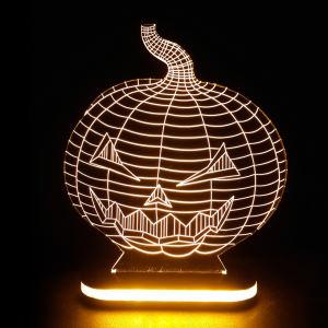 چراغ خواب طرح کدو هالووین کد 1087