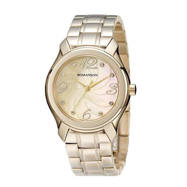 ساعت مچی عقربه ای زنانه رومانسون مدل RM3214LL1GM81G