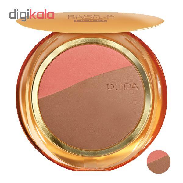 پنکک پوپا مدل Blush & Bronze شماره 003