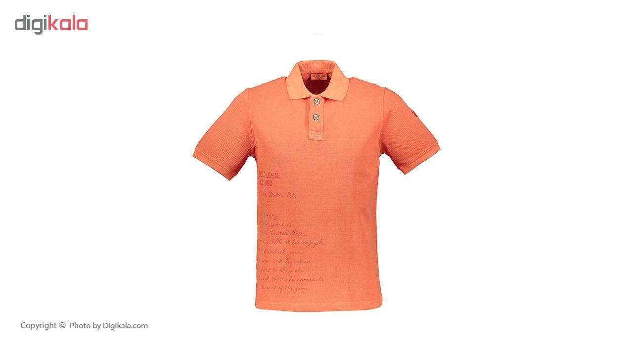 پولو شرت مردانه یو اس پولو مدل 081118