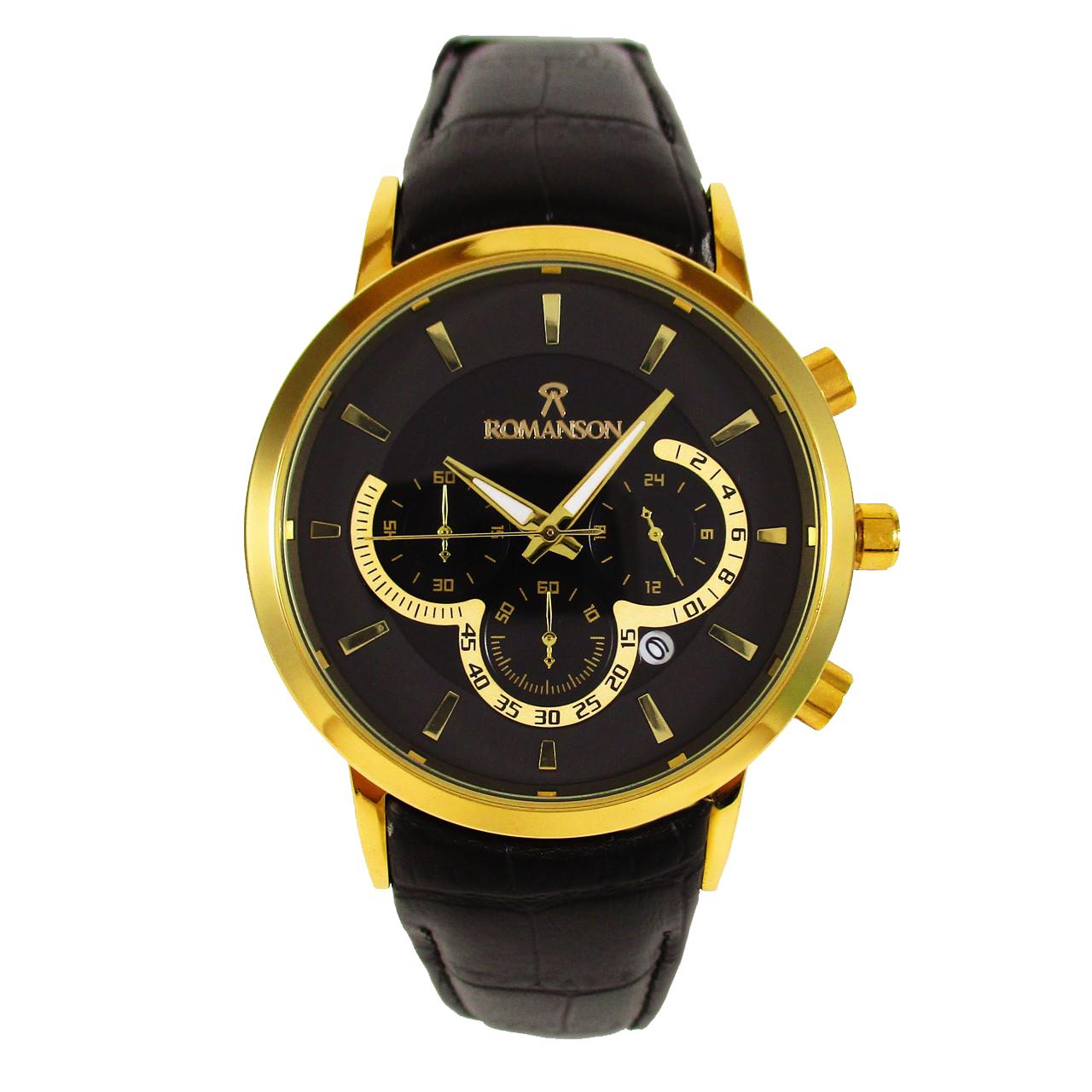 ساعت مچی عقربه ای مردانه مدل  ROM 01 55