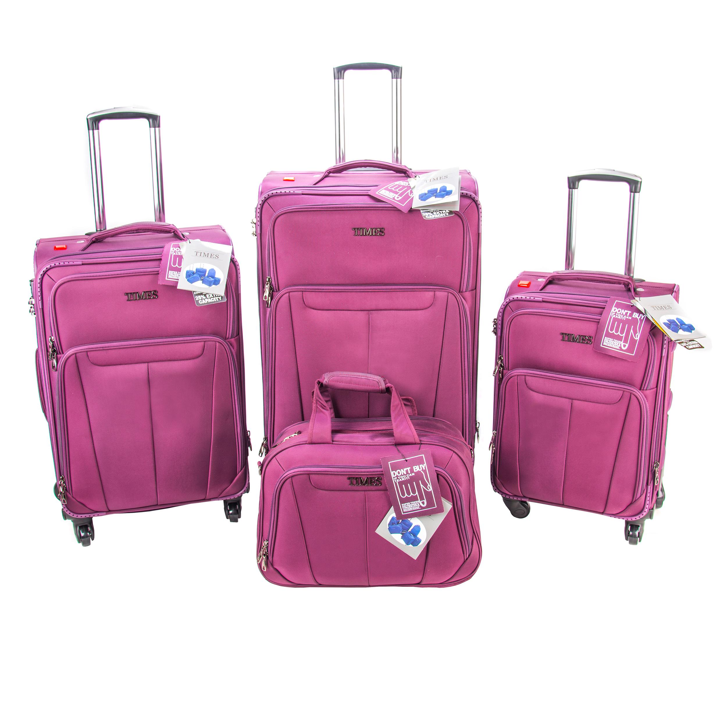 مجموعه 4 عددی چمدان تایمز کد 001