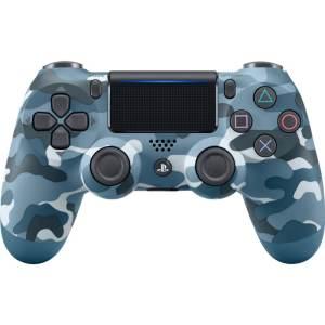 دسته بازی بی سیم سونی مدل Dualshock 4 Blue Camo مناسب برای PS4
