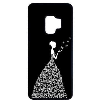 کاور طرح دخترانه کد 9175 مناسب برای گوشی موبایل سامسونگ galaxy s9 plus