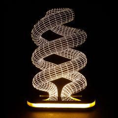 چراغ خواب طرح لامپ کم مصرف کد 1104 |