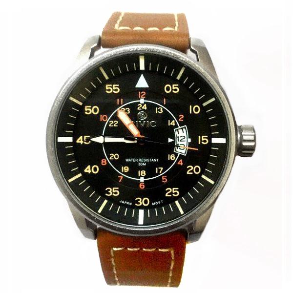 کد تخفیف                                      ساعت مچی عقربه ای مردانه سیویک مدل E24