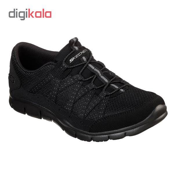 کفش مخصوص پیاده روی زنانه اسکچرز مدل MIRACLE 22823BBK