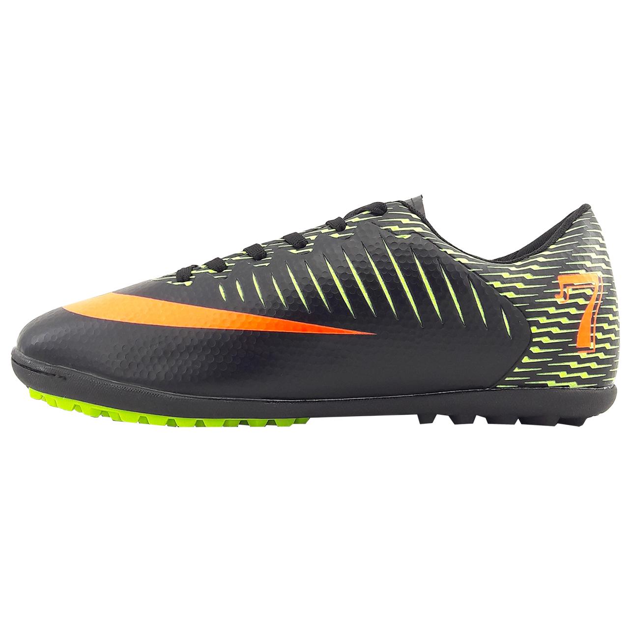 کفش فوتبال مردانه کینگ مدل Sky city 7.bl001