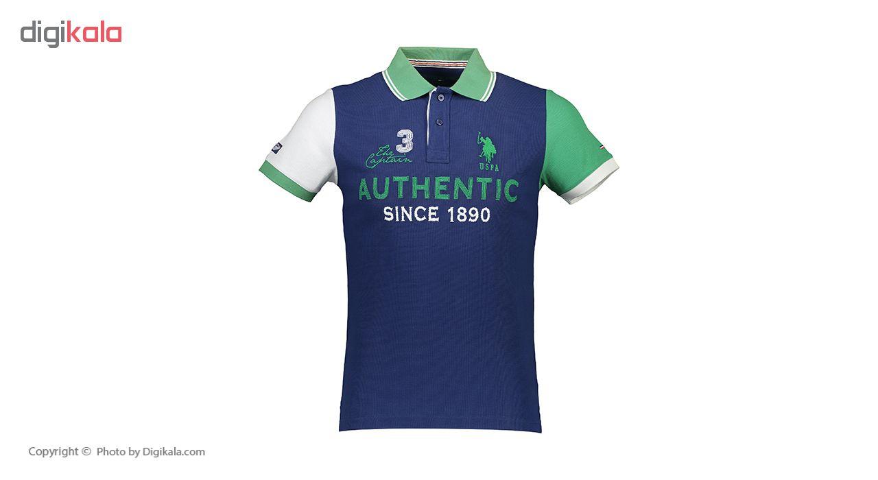 پولو شرت مردانه یو اس پولو مدل 081146