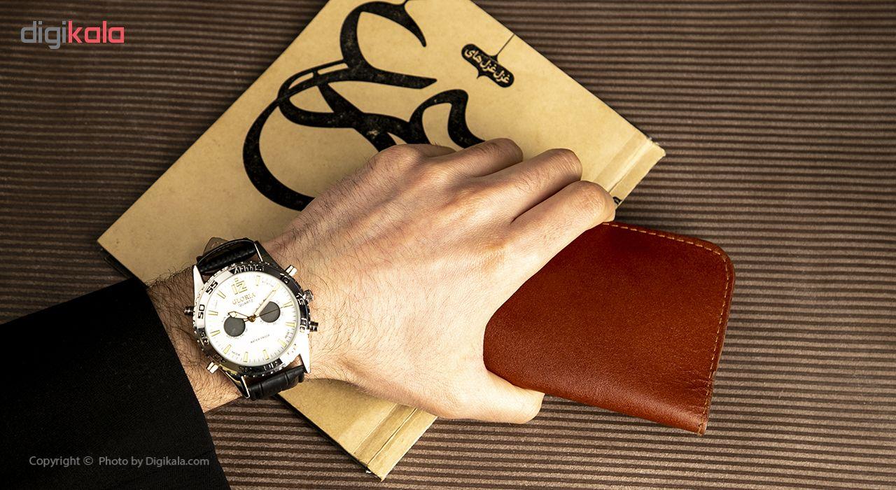 خرید ساعت مچی عقربه ای مردانه گلوریا مدل Z1