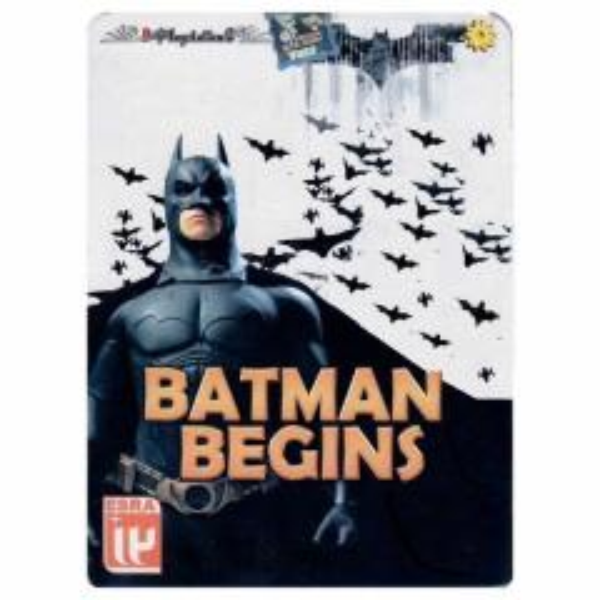 بازی BATMAN BEGINS مخصوص PLAYStation2 به همراه اسپینر خفاش