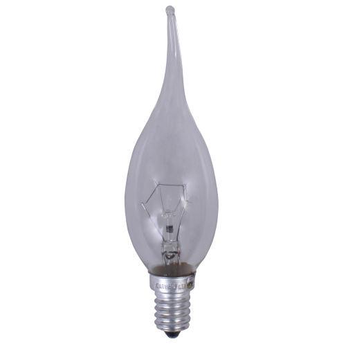 لامپ اشکی 40 وات نارون مدل Clear پایه E14