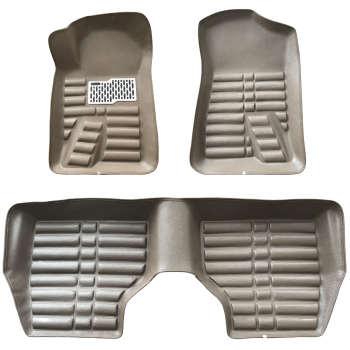 کفپوش سه بعدی خودرو مدل 0001 مناسب برای پژو و سمند  