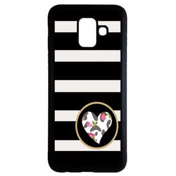 کاور طرح قلب کد 9497 مناسب برای گوشی موبایل سامسونگ Galaxy a8 plus 2018