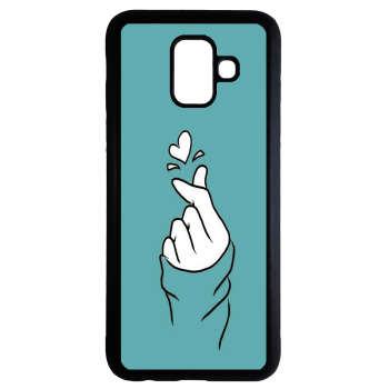 کاور طرح دخترانه کد 9515 مناسب برای گوشی موبایل سامسونگ Galaxy a8 plus 2018