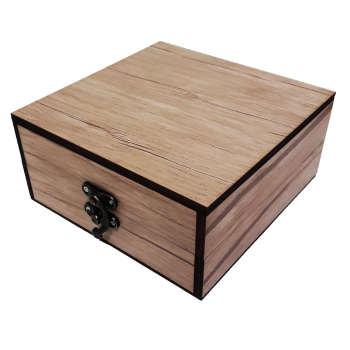 جعبه هدیه چوبی کادویی آیهان باکس مدل 67