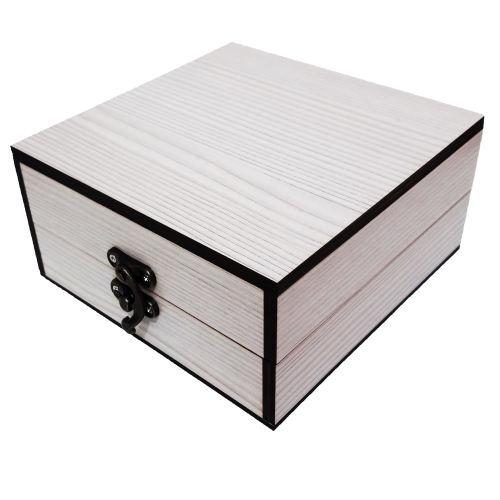 جعبه هدیه چوبی کادو آیهان باکس مدل 69