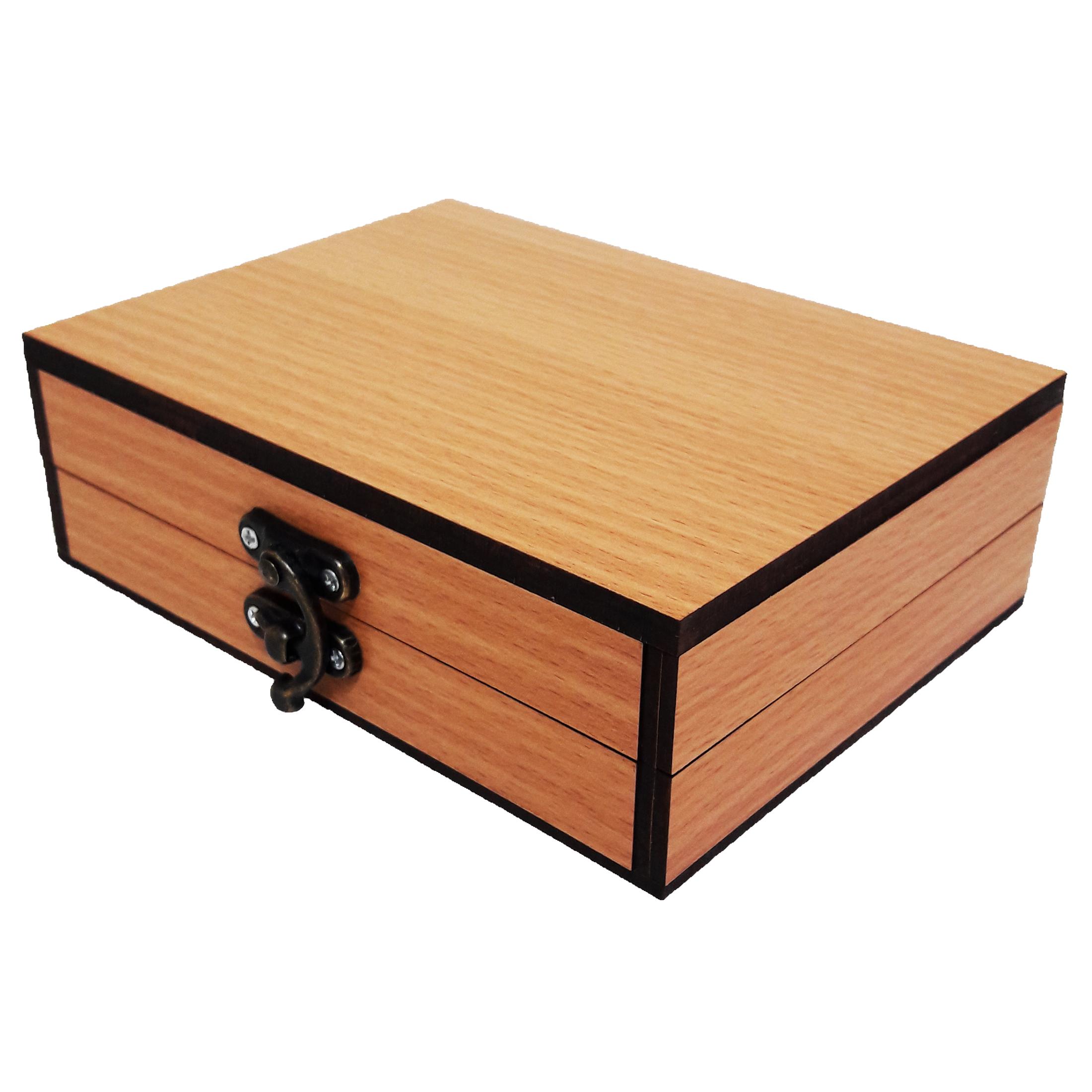 جعبه هدیه چوبی کادو آیهان باکس مدل 73