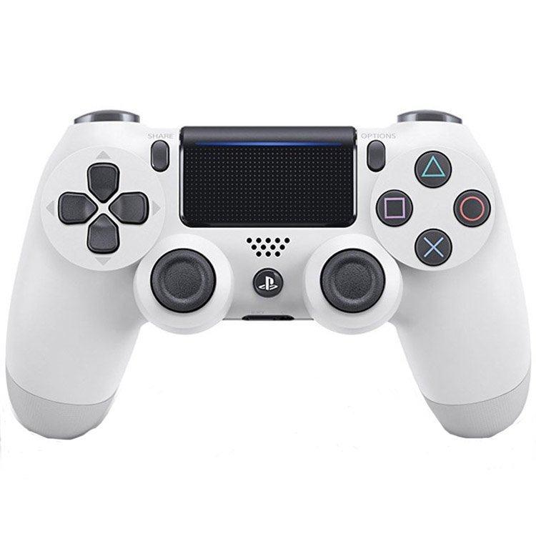 دسته بازی بی سیم  مدل Dualshock 4 White مناسب برای PS4