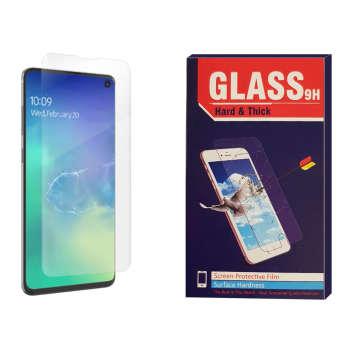 محافظ صفحه نمایش Hard and thick مدل Nano tpu مناسب برای گوشی موبایل سامسونگ Galaxy S10