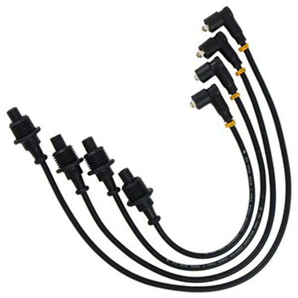 وایر شمع خودرو بوچ مدل T.Y.3 مناسب برای پژو 405 و پارس دوگانه سوز بسته 4 عددی