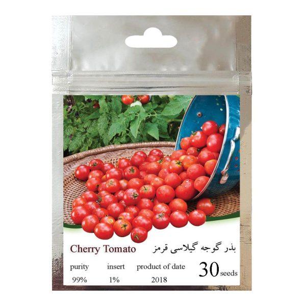بذر گوجه گیلاسی قرمز چری مدل 085 thumb