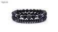 دستبند مردانه مدل دانلی کد S11 مجموعه 2 عددی thumb 1