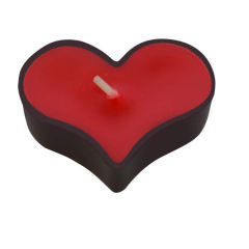 شمع طرح قلب کد 0109-98