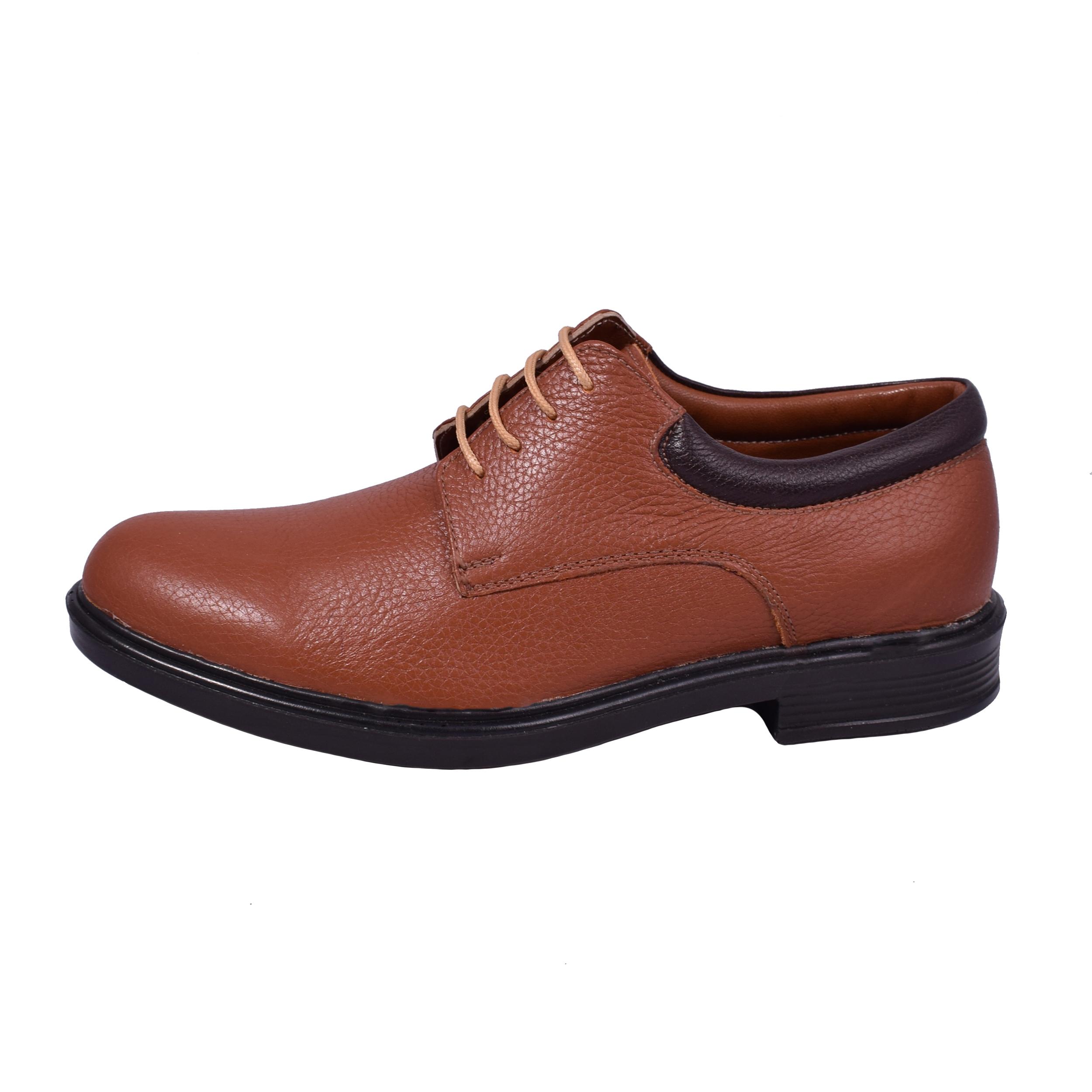 کفش طبی مردانه مدل مالدیو کد 708-mm رنگ عسلی