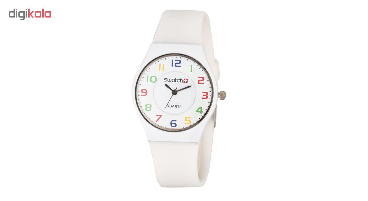 خرید ساعت مچی عقربه ای مردانه مدل Swt-CLWh