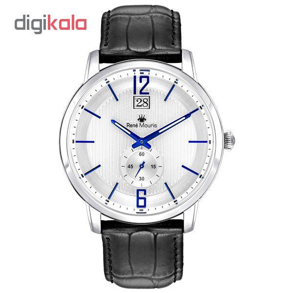 خرید ساعت مچی عقربه ای رنه موریس مدل Executive 80101 RM2