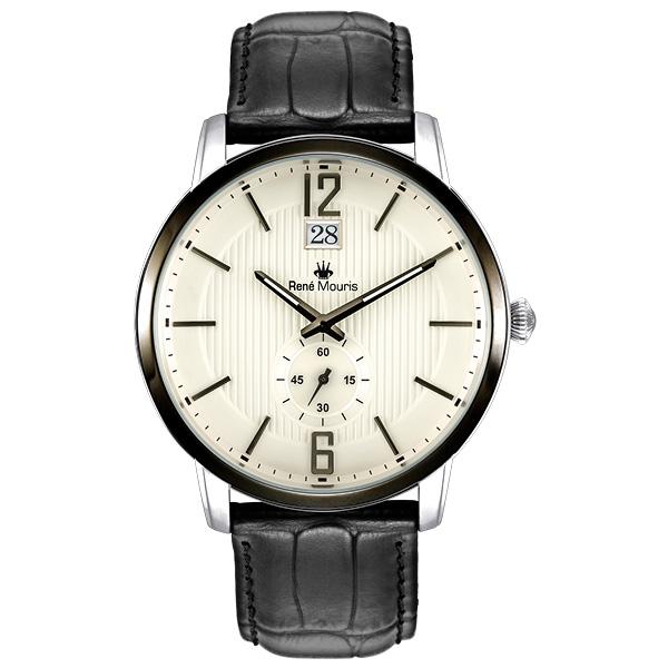 کد تخفیف                                       ساعت مچی عقربه ای رنه موریس مدل Executive 80101 RM3