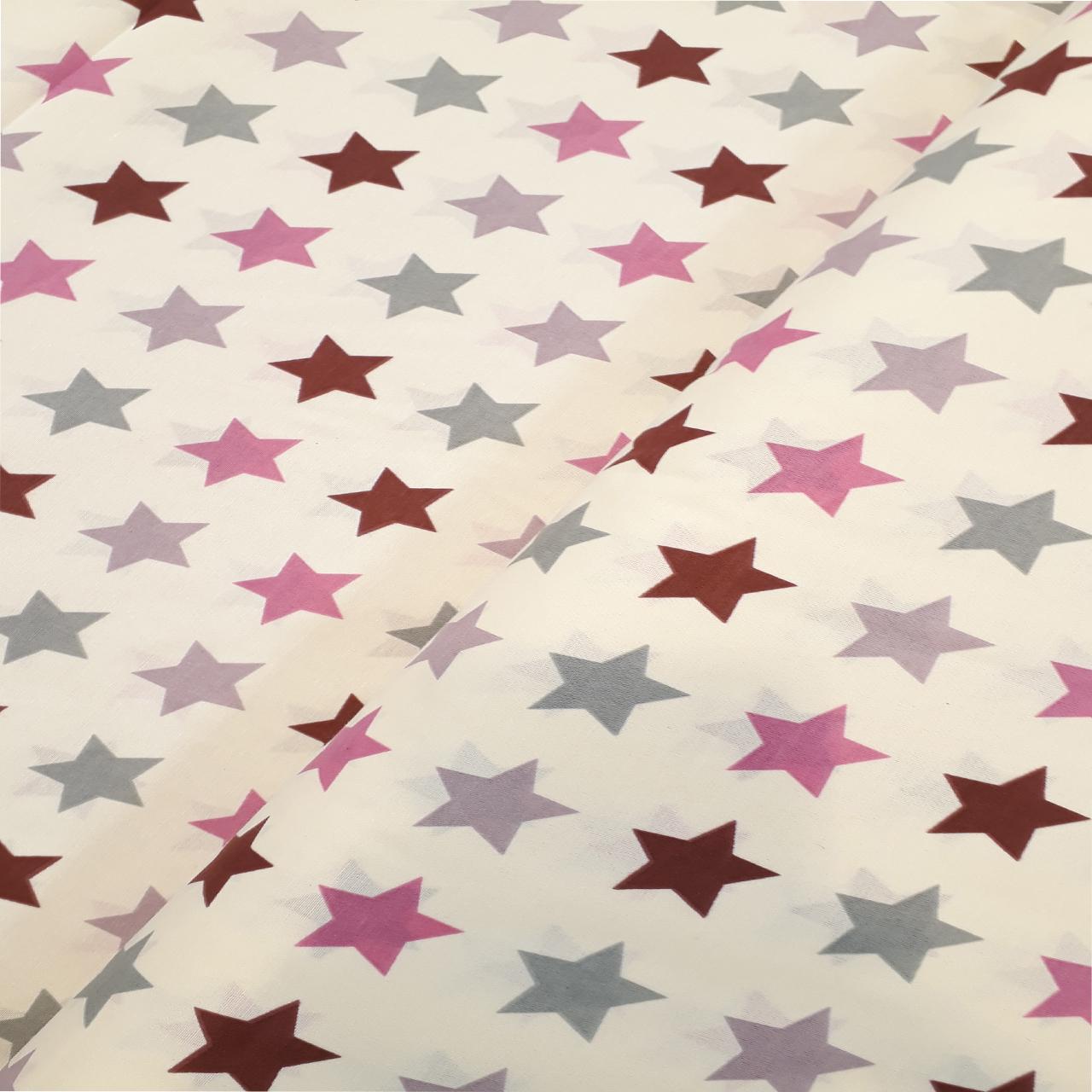 عکس پارچه ملحفه طرح ستاره کد 3