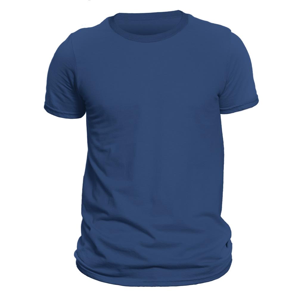 تیشرت آستین کوتاه مردانه فروشگاه دی سی کد DC-1QBU رنگ آبی نفتی