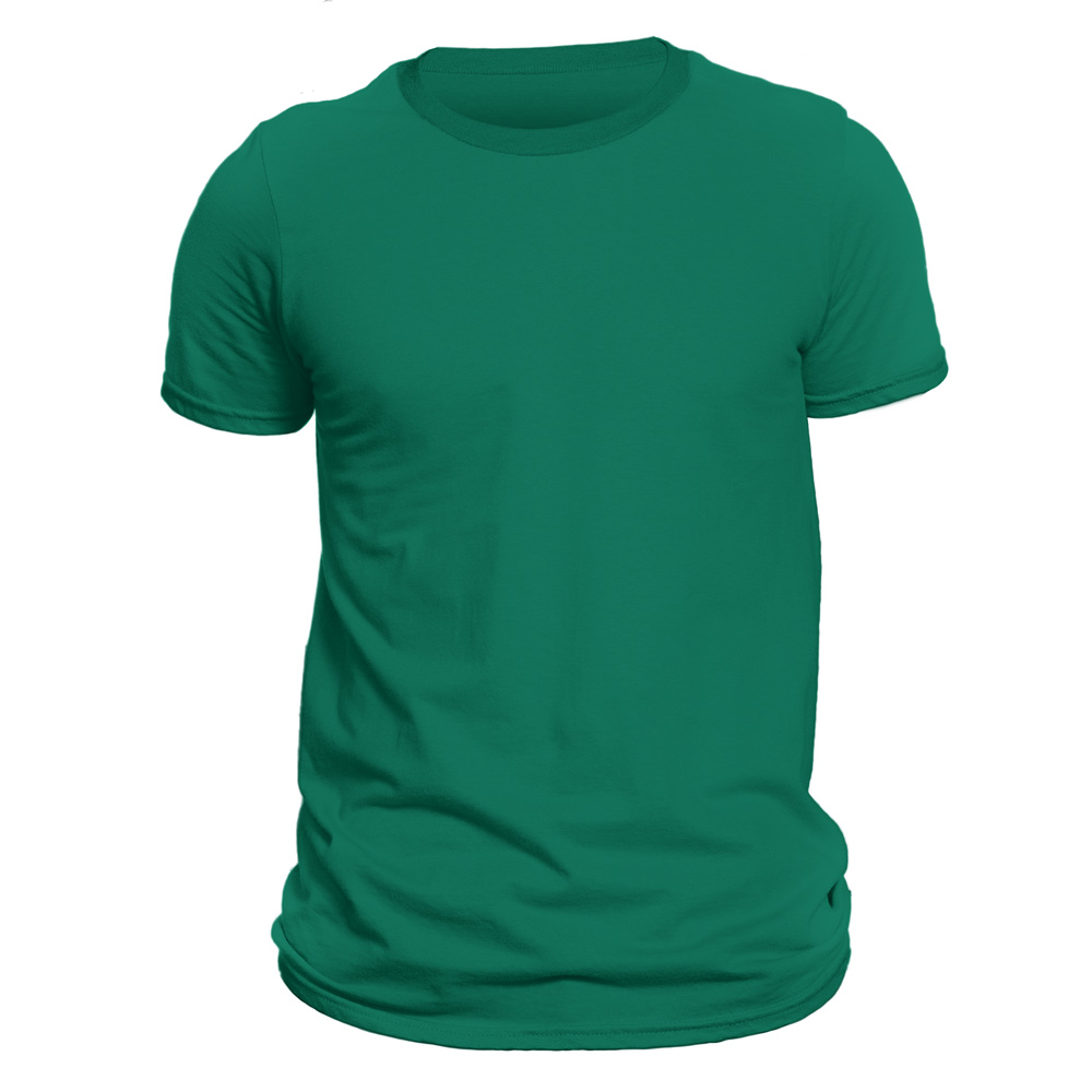 تیشرت آستین کوتاه مردانه دی سی کد DC-1BGR رنگ سبز