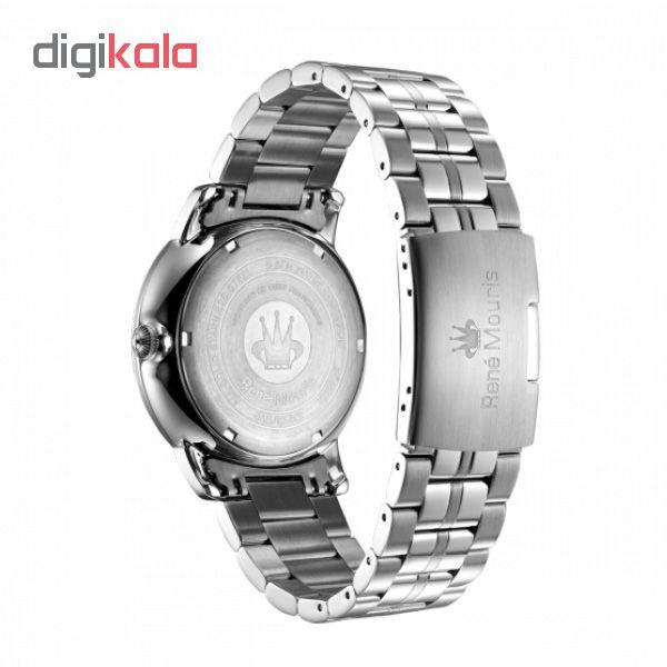 ساعت مچی عقربه ای مردانه رنه موریس مدل Executive 80102 RM1
