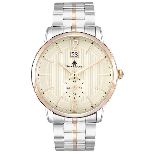 ساعت مچی عقربه ای مردانه رنه موریس مدل Executive 80102 RM4 1
