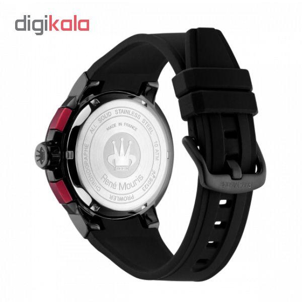 ساعت مچی عقربه ای مردانه رنه موریس مدل Prowler 90123 RM3