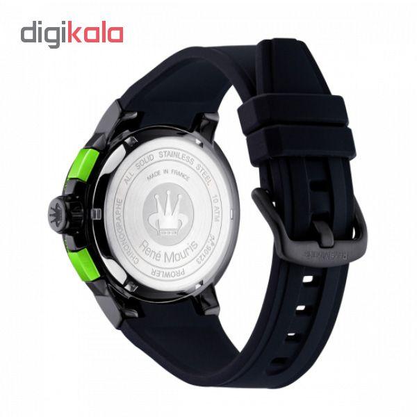 ساعت مچی عقربه ای مردانه رنه موریس مدل Prowler 90123 RM4