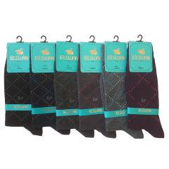 جوراب مردانه ال سون طرح ونیز کد PH43 مجموعه 6 عددی
