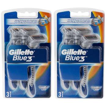 خود تراش ژیلت مدل Blue 3 مجموعه 2 عددی