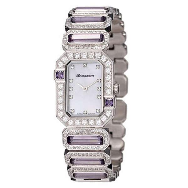 ساعت مچی عقربه ای زنانه رومانسون مدل RM6A16QLPWM1R1