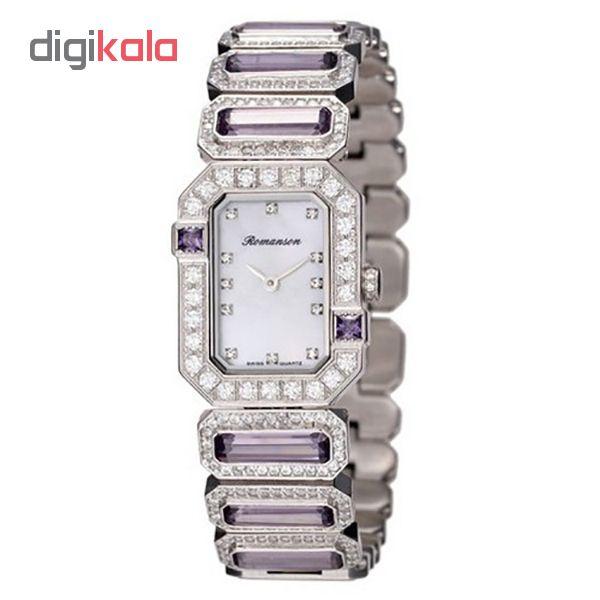 ساعت مچی عقربه ای زنانه رومانسون مدل RM6A16QLPWM1R1              ارزان