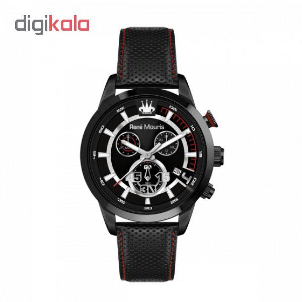 خرید ساعت مچی عقربه ای مردانه رنه موریس مدل Vitesse 90118 RM3