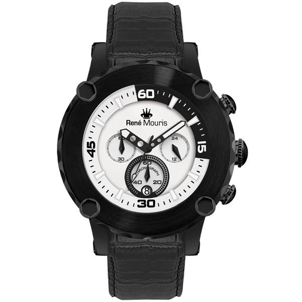 کد تخفیف                                      ساعت مچی عقربه ای مردانه رنه موریس مدل Santa Maria 90101 RM12