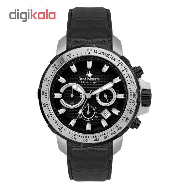 خرید ساعت مچی عقربه ای مردانه رنه موریس مدل Traveller 90104 RM3