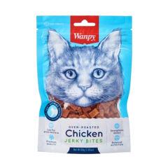 غذای تشویقی گربه ونپی مدل Chicken Jerky Bites وزن 80 گرم