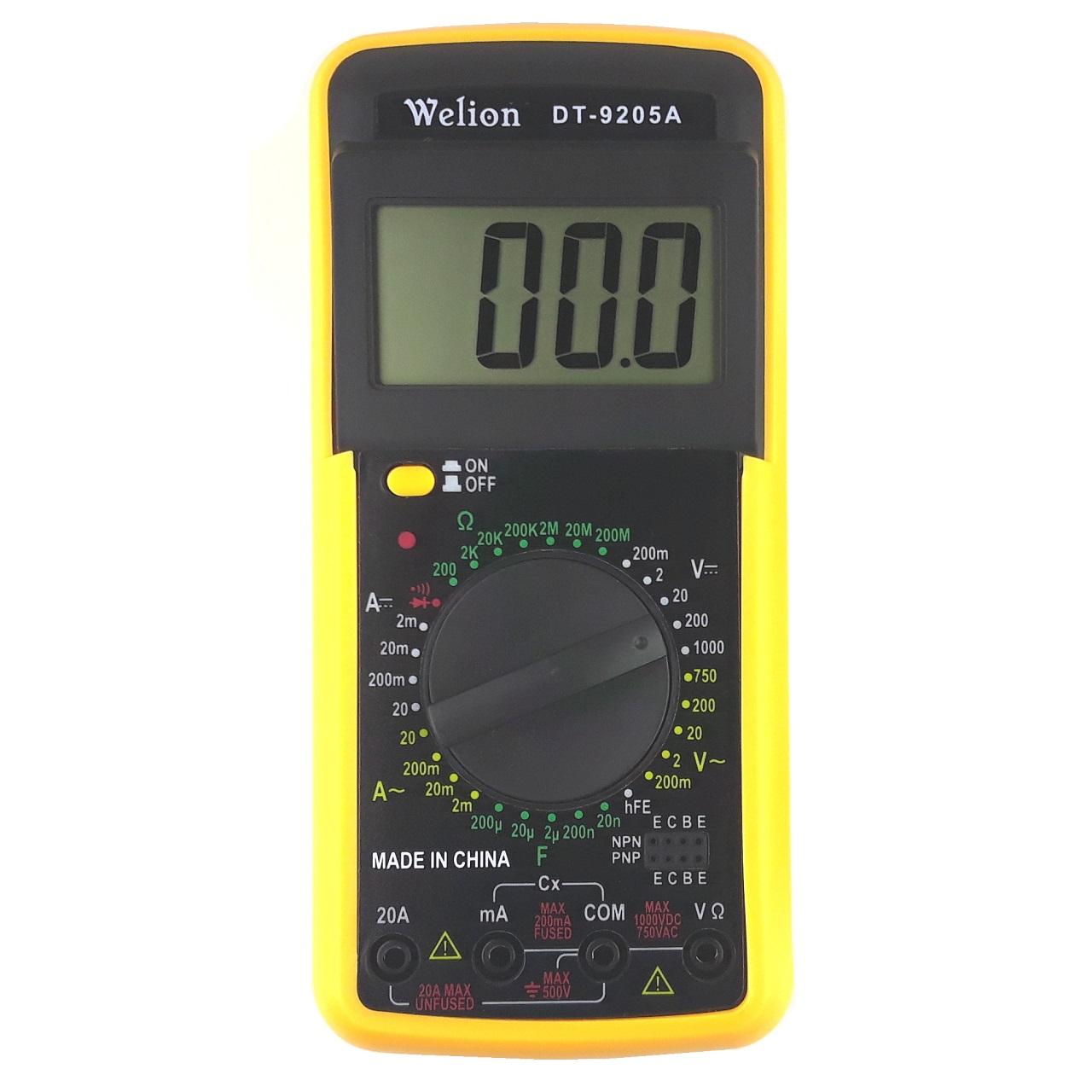 مولتی متر دیجیتال  ویلیون مدل DT-9205A